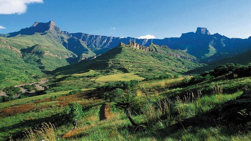 Le Drakensberg