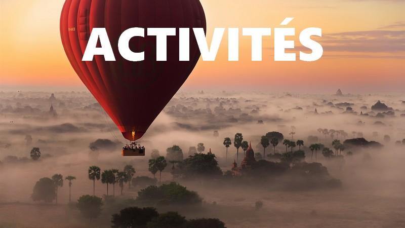 Voyage activités